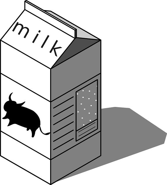 牛乳パック再利用